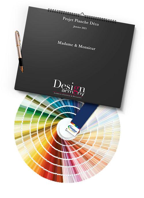 Le Book papier Armony Design